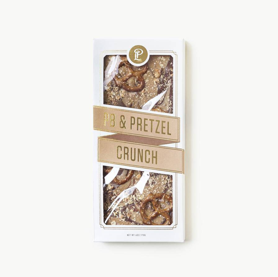 Lolli and Pops LOPFAD - PB Pretzel Crunch Topped Bar