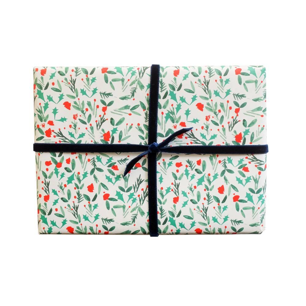 Mr. Boddingtons Studio Meet Me Under the Mistletoe Wrap Sheet