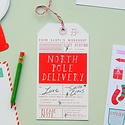 Mr. Boddington's Studio - MB North Pole Delivery Gift Tag - Single