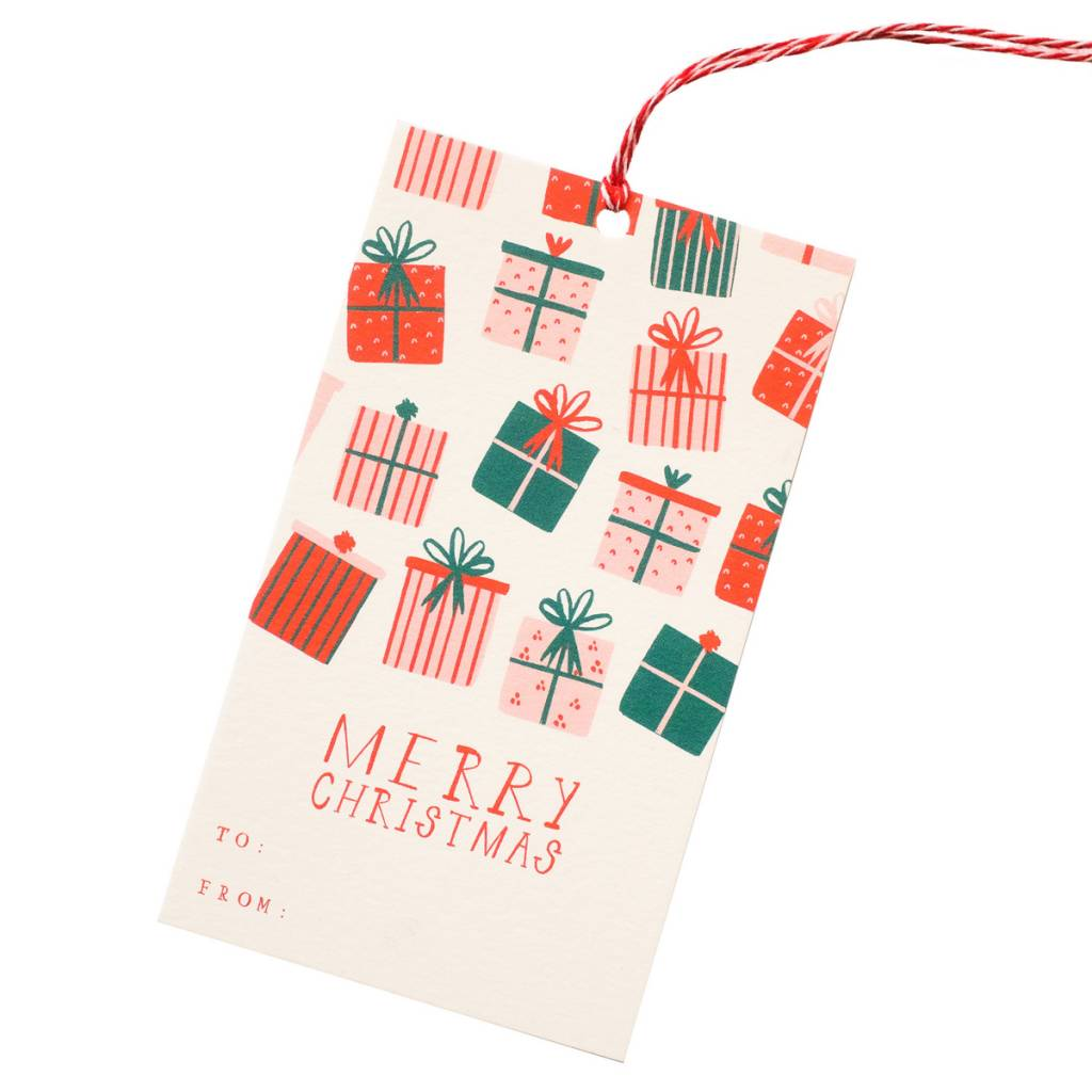 Mr. Boddingtons Studio Open This First Gift Tags, Set of 6