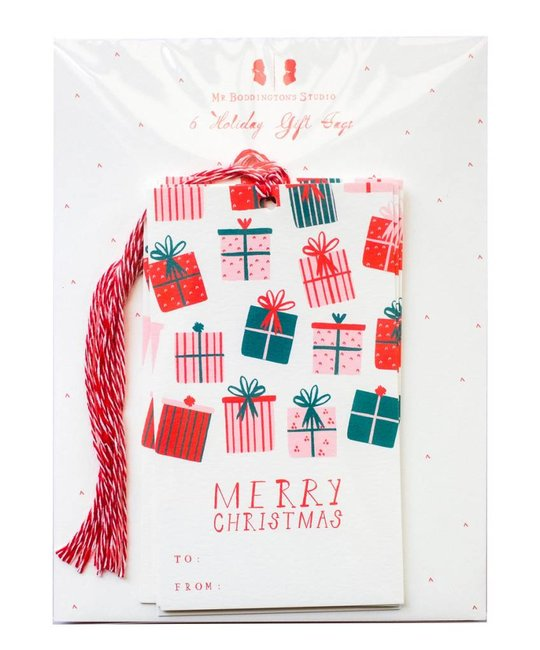 Mr. Boddington's Studio - MB Open This First Gift Tags, Set of 6