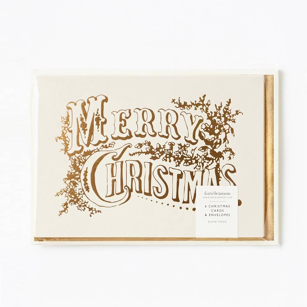 Katie Leamon KLGCHO0003 - Vintage Christmas Foil