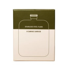 Izola IZBG - Army Green Flask with Canvas Carrier