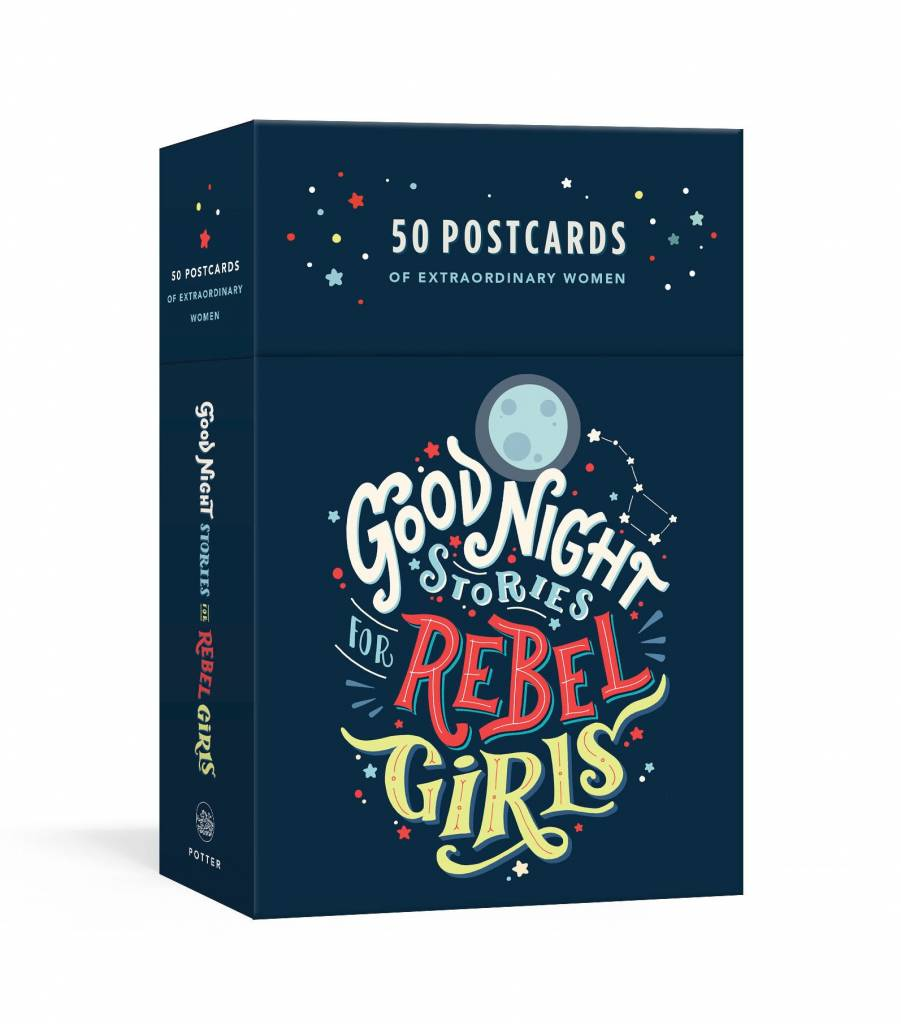 Penguin Random House PRHBOGB - Good Night Stories for Rebel Girls: 50 Postcards