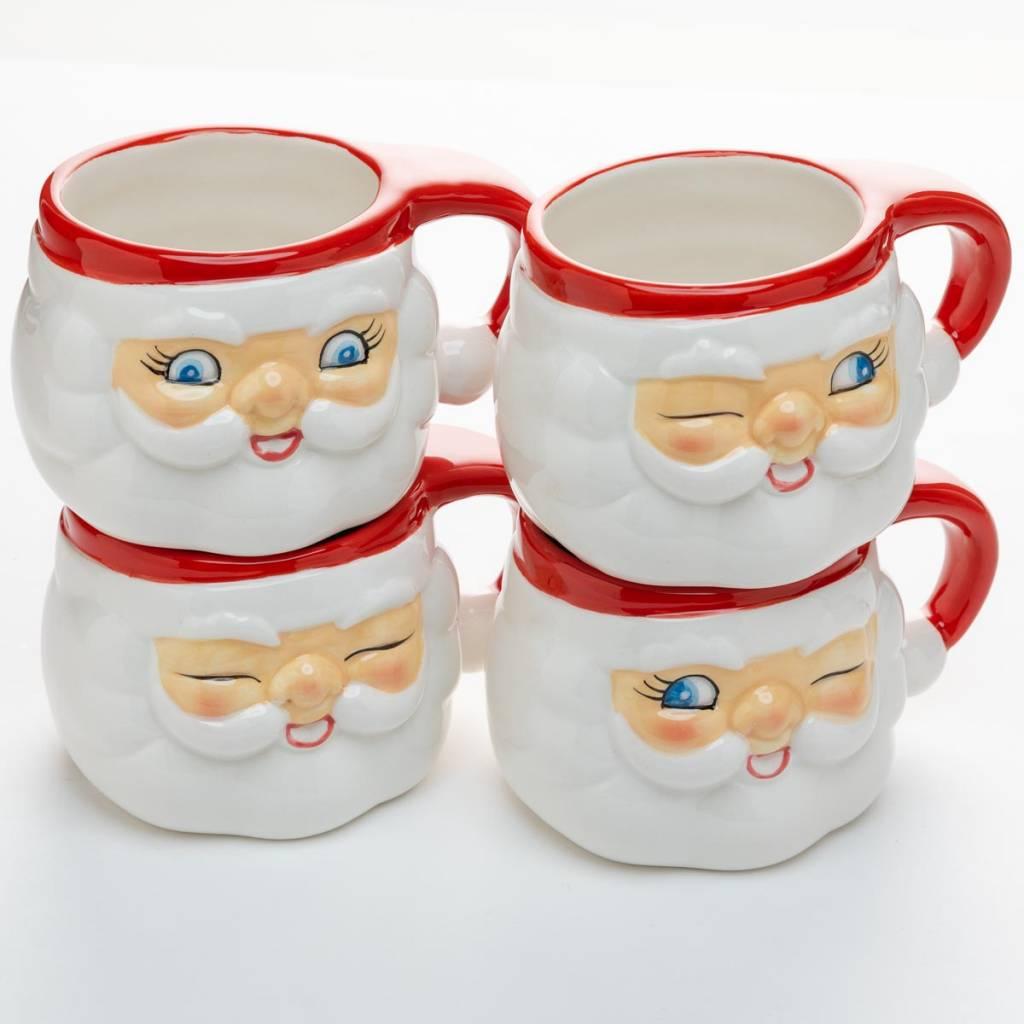 One Hundred 80 Degrees Small Santa Mug