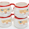 One Hundred 80 Degrees - 180 Small Santa Mug