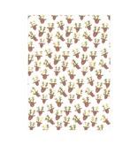Meri Meri Neon Nose Reindeer Continuous Wrap Roll