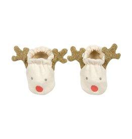 Meri Meri MEMBA - Reindeer Baby Booties