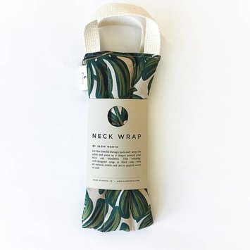 Slow North Tropical Monstera Neck Wrap