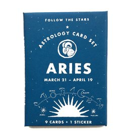 3 potato 4 3P4 LG - Astrology Card Pack - Aries