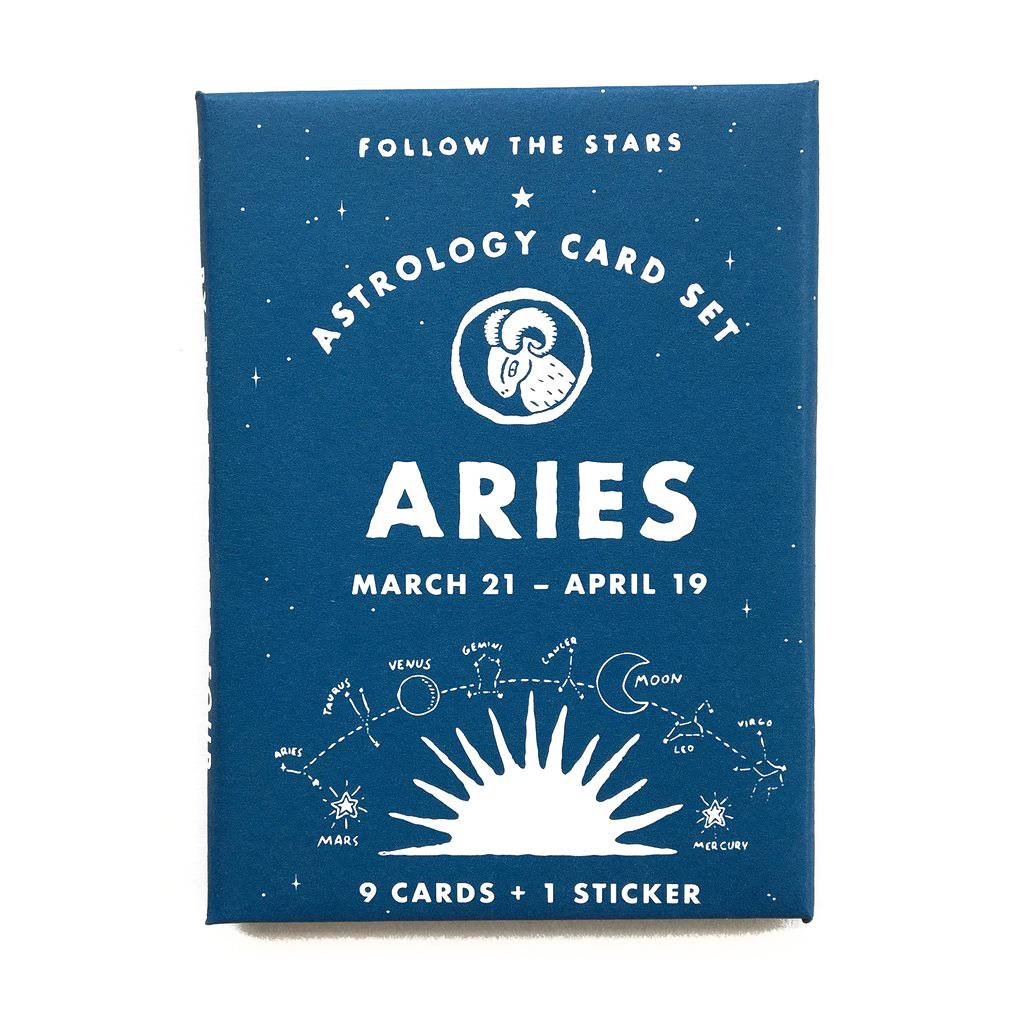 3 potato 4 Astrology Card Pack - Aries