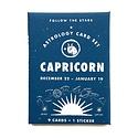 3 potato 4 Astrology Card Pack - Capricorn