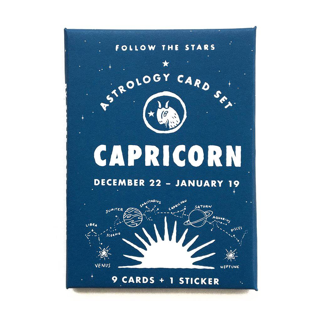 3 potato 4 Astrology Card Pack - Capricorn