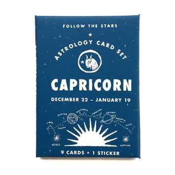 3 potato 4 3P4 LG - Astrology Card Pack - Capricorn
