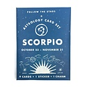 3 potato 4 Astrology Card Pack - Scorpio