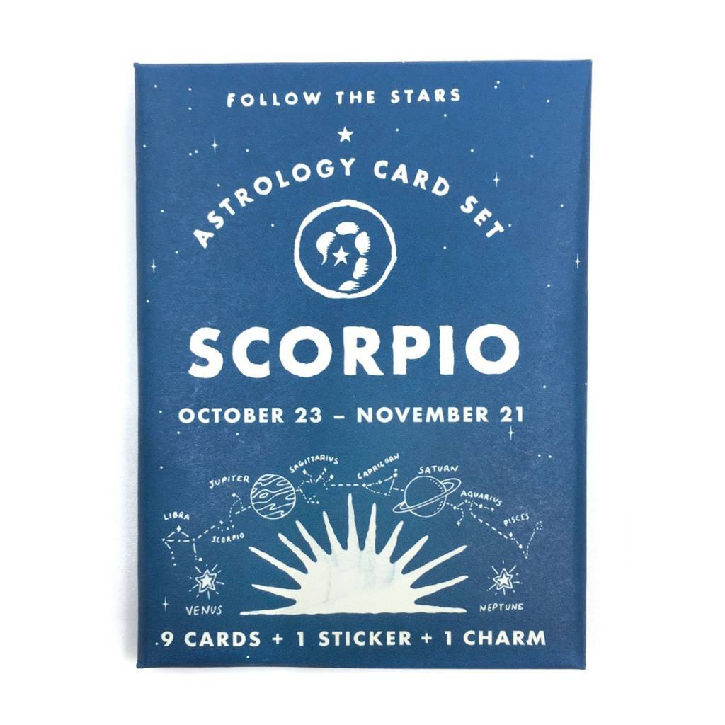 3 potato 4 3P4 LG - Astrology Card Pack - Scorpio