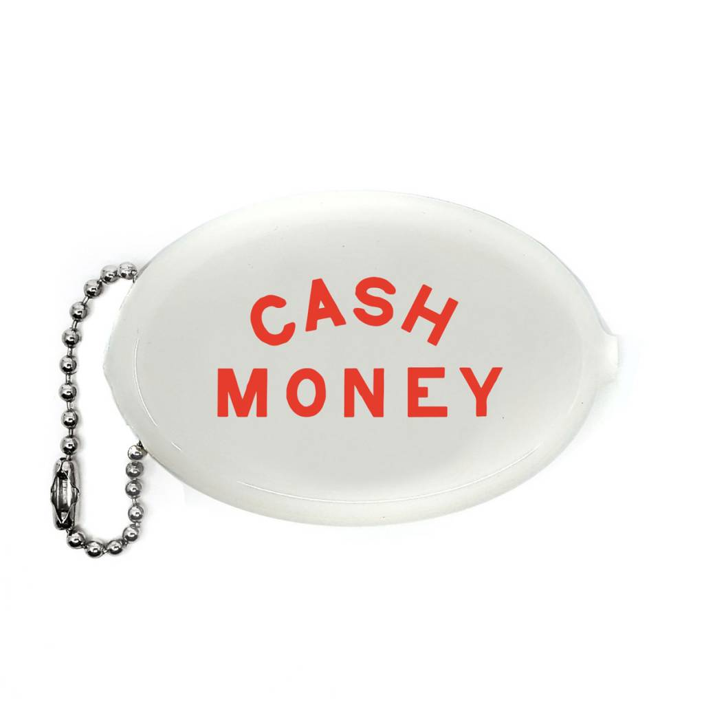 3 potato 4 Cash Money Coin Pouch White