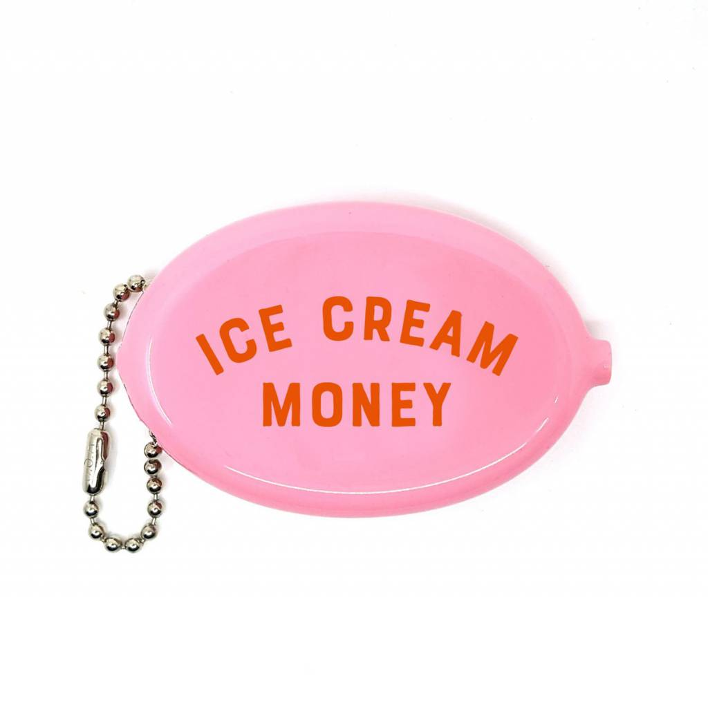 3 potato 4 - 3P4 3P4 LG - Ice Cream Money Coin Pouch Pink