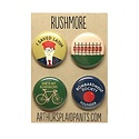 Arthurs Plaid Pants Rushmore 4 pc Magnet set