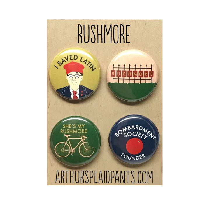 Arthurs Plaid Pants ARP LG - Rushmore 4 pc Magnet set