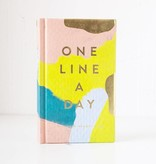 Chronicle Books Moglea One Line a Day A Five-Year Memory Book
