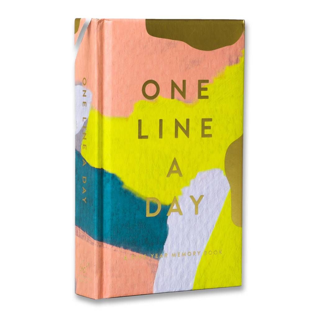 Chronicle Books CBGB - Moglea One Line a Day A Five-Year Memory Book