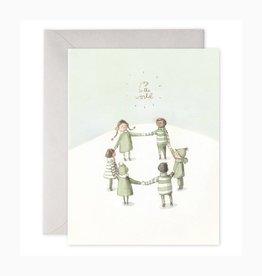 E. Frances Paper Studio Joy to the World