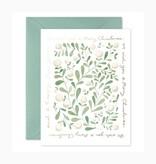 E. Frances Paper Studio Christmas Greens, Set of 6