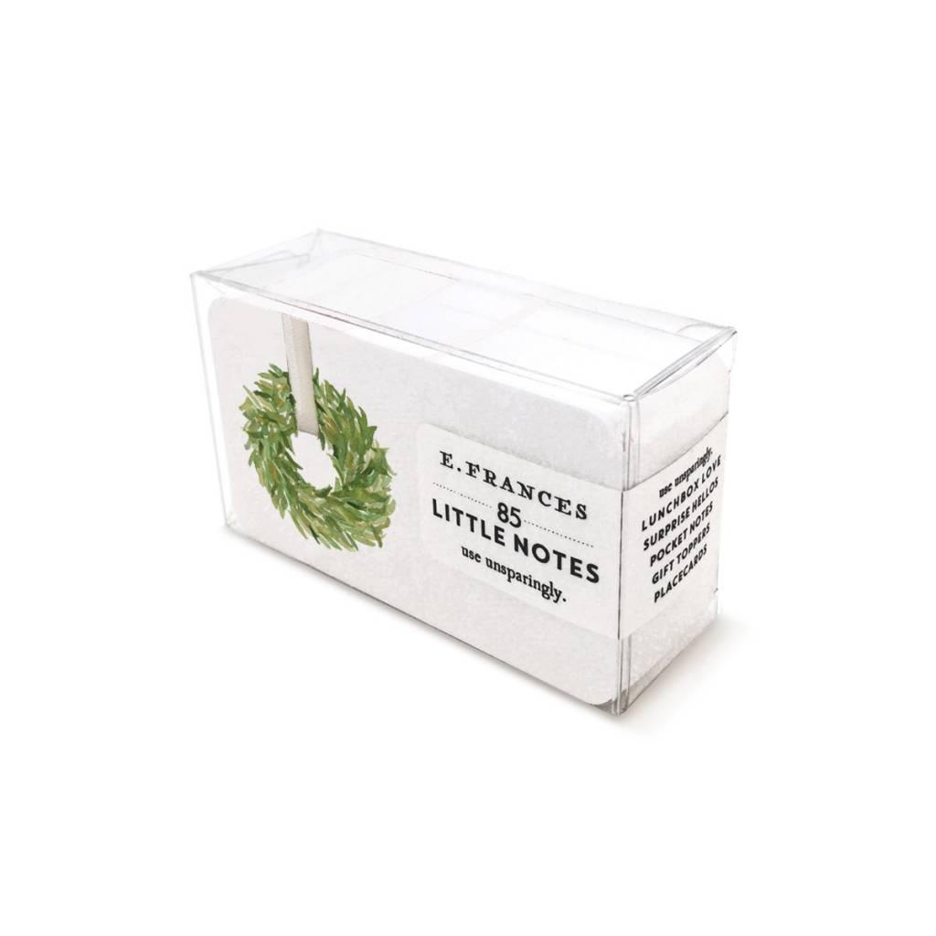 E. Frances Paper Studio Classic Wreath Little Notes