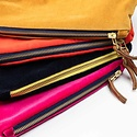 Erin Flett - ERF Velvet Makeup Bag by Erin Flett