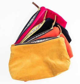 Erin Flett Velvet Makeup Bag by Erin Flett