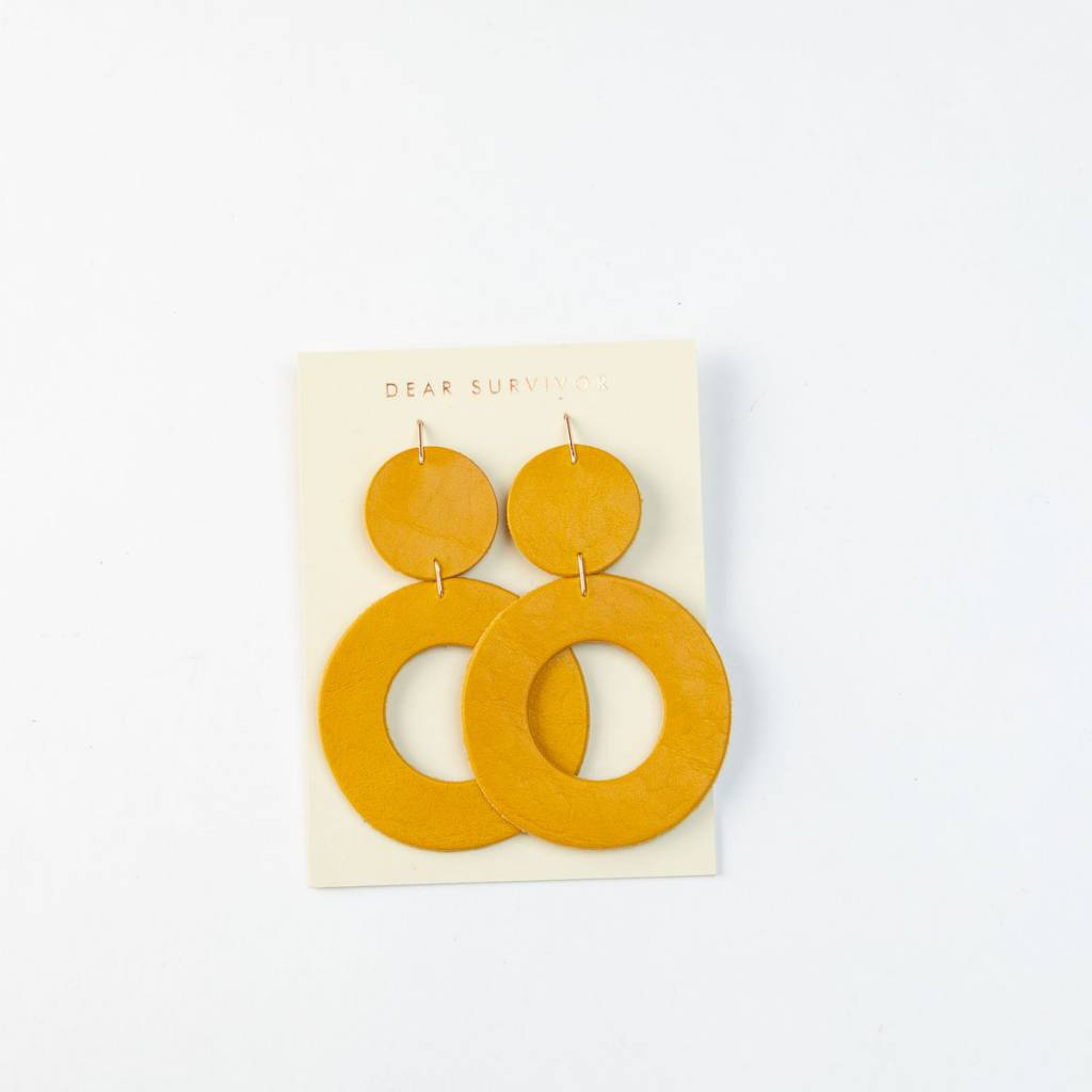 Dear Survivor Marigold Stela Earrings