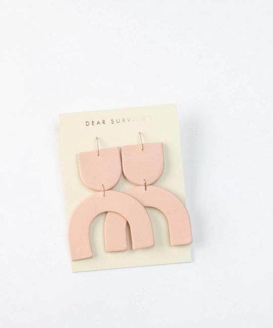 Dear Survivor Pink Cozumel Earrings