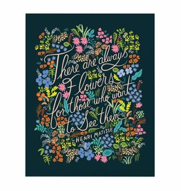 Rifle Paper Co. RPPR - Matisse Quote Print, 16x20