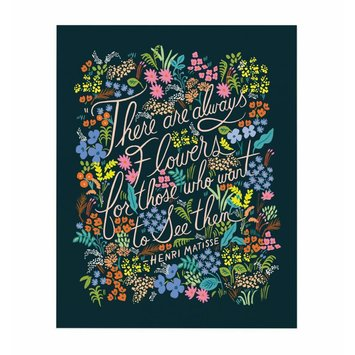 Rifle Paper Co. RP PR - Matisse Quote Print, 16 x 20 inch