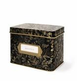 Rifle Paper Co. Queen Anne Tin Recipe Box