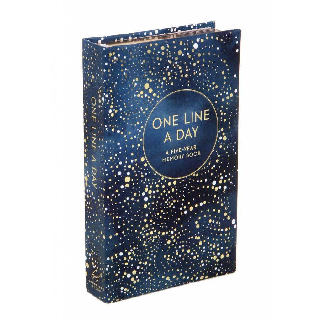 Chronicle Books Celestial One Line a Day A Five-Year Memory Book