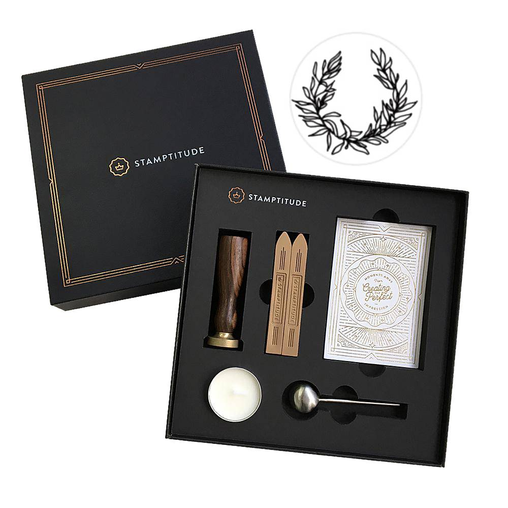 Stampitude Wreath Wax Seal Gift Set
