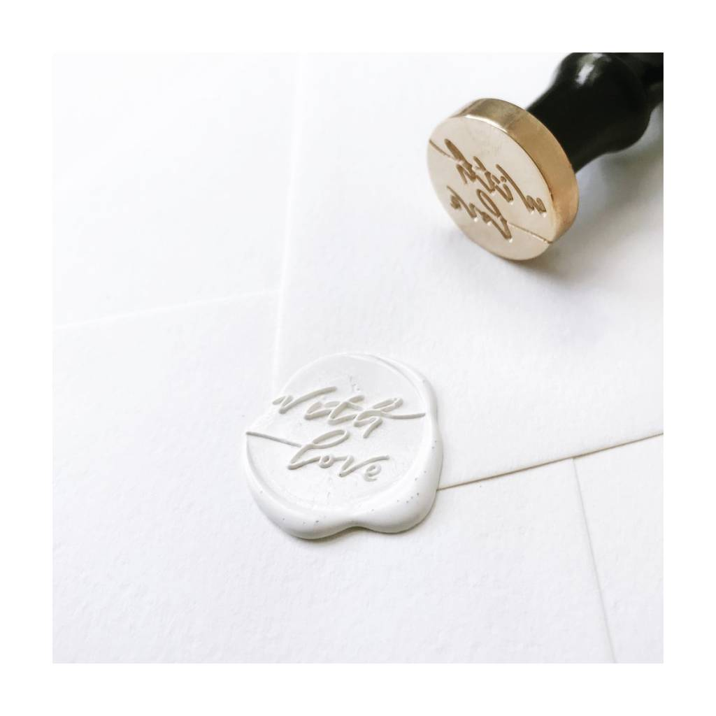 Stampitude With Love Wax Seal Stamp