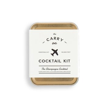 w and p design Champagne Carry On Cocktail Kit