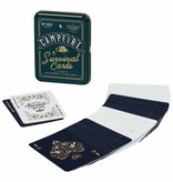 Wild and Wolf Campfire Survival Playing Cards