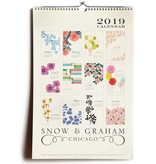 Snow and Graham Snow & Graham 2019 Wall Calendar