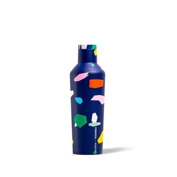 Corkcicle Poketo X Corkcicle Blue Confetti Canteen