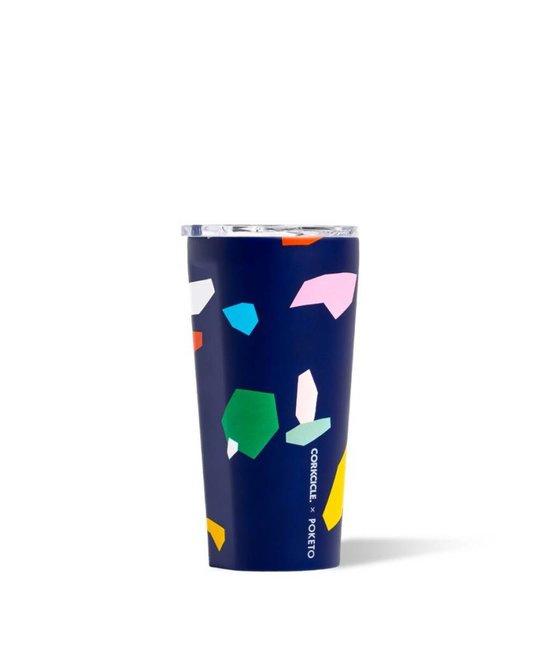 Corkcicle - CO CO HG - Blue Confetti Tumbler