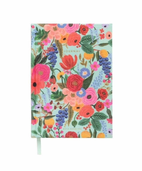 Rifle Paper Co. RP NB - Garden Party Fabric Journal, lined