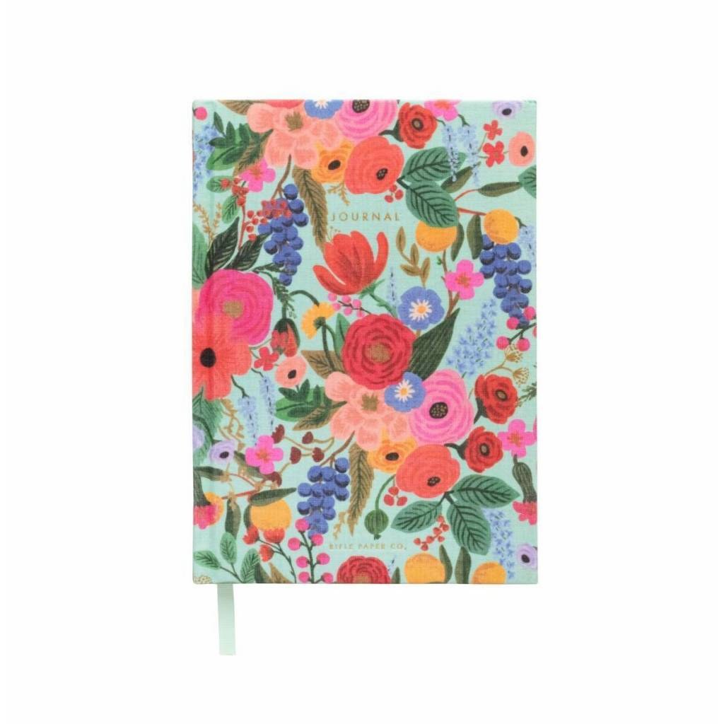 Rifle Paper Co - RP Garden Party Lined Fabric Journal