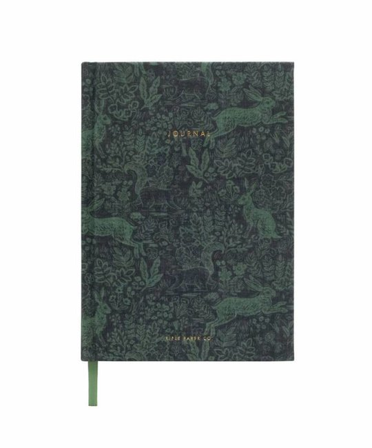 Rifle Paper Co. RP NBLI - Fable Fabric Journal, lined