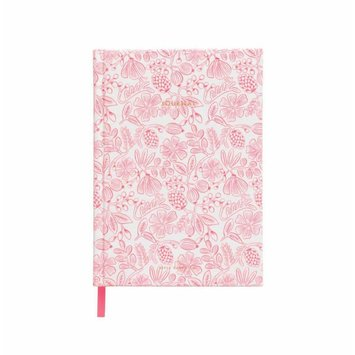 Rifle Paper Co. Moxie Floral Fabric Lined Journal