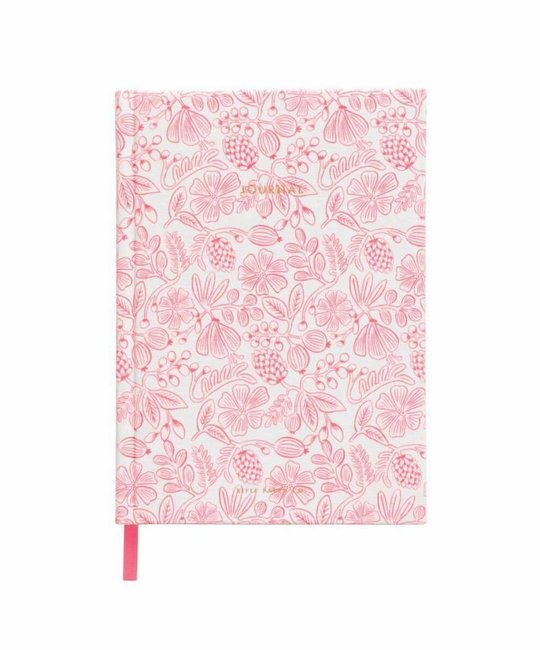 Rifle Paper Co. RP NBLI - Moxie Floral Fabric Journal, lined
