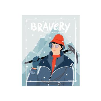 Bravery Magazine BRA BOMAG - Bravery Magazine Issue 6: Junko Tabei